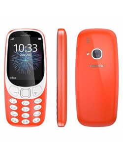 "Nokia 3310 (2017) Red, 2.4 "", TFT, 240 x 320 pixels, 16 MB, Dual SIM, Micro-SIM, Bluetooth, 3.0, USB version microUSB 2.0, Built"