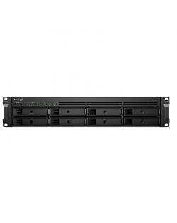 Synology Rack NAS RS1221+ Up to 8 HDD/SSD Hot-Swap, Ryzen V1500B Quad Core, Processor frequency 2.2 GHz, 4 GB, DDR4, RAID 0,1,5,