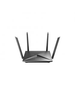 D-Link AC2100 Wi-Fi Gigabit Router DIR-2150 802.11ac, 1733+300 Mbit/s, 10/100/1000 Mbit/s, Ethernet LAN (RJ-45) ports 4, MU-MiMO