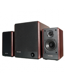 Microlab FC-330 Speaker type 2.1, 3.5mm, Black/Dark Wood, 56 W