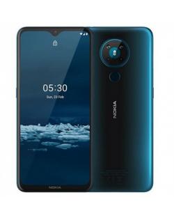 "Nokia 5.3 TA-1234 6.55 "", Cyan, IPS LCD, 720 x 1600 pixels, Qualcomm SM6125 Snapdragon 665, Dual SIM, Nano-SIM, 4.2, Internal RA"
