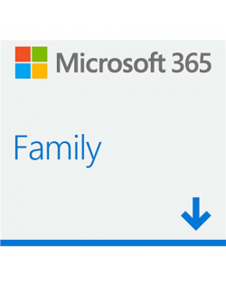 Microsoft 365 Family 6GQ-00092 ESD, License term 1 year(s), ALL Languages