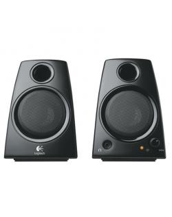 Logitech LGT-Z130 Speaker type 2.0, 3.5mm, Black, 5 W