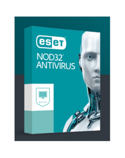 Eset NOD32 Antivirus, New electronic licence, 1 year(s), License quantity 1 user(s)