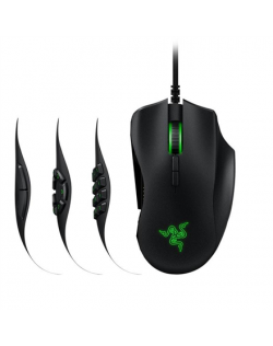 Razer Naga Trinity, Gaming mouse, No, Wired