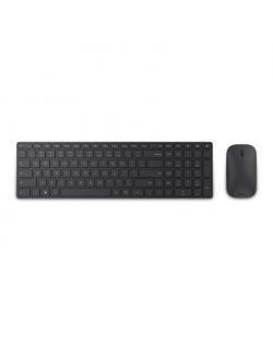 Microsoft 7N9-00022 Designer Bluetooth Desktop Standard, Wireless, Keyboard layout EN, Black, Mouse included, Numeric keypad