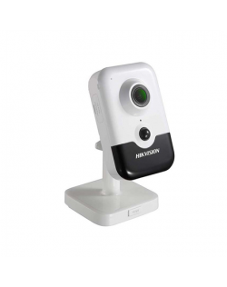 Hikvision IP Camera DS-2CD2421G0-IW F2.0 Cube, 2 MP, 2mm/F2.0, Power over Ethernet (PoE), H.265, H.265+, H.264, H.264+, Micro SD