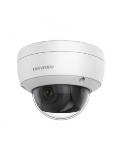 Hikvision IP Camera DS-2CD2163G0-IU Dome, 6 MP, 2.8mm/F2.0, Power over Ethernet (PoE), IP66, IK10, H.264+, H.265+, Micro SD, Max