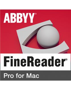 Abbyy FineReader Pro for Mac, Single User License (ESD), Perpetual year(s), License quantity 1 user(s)