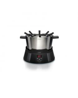 Caso FonDue Set Electric, 1000 W, Black