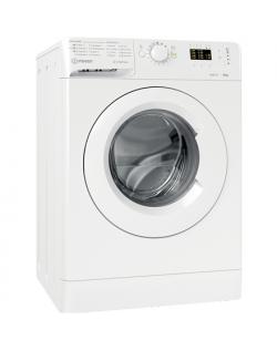 INDESIT Washing machine MTWA 61251 W EE Energy efficiency class F, Front loading, Washing capacity 6 kg, 1200 RPM, Depth 54 cm,