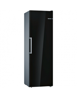 Bosch Freezer GSN36VBFP Energy efficiency class F, Free standing, Upright, Height 186 cm, No Frost system, Display, 40 dB, Black