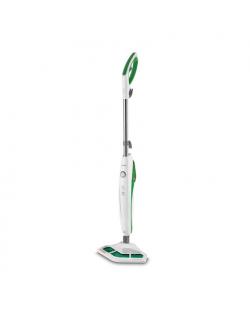 Polti Steam mop PTEU0272 Vaporetto SV400_Hygiene Power 1500 W, Water tank capacity 0.3 L, White/Green