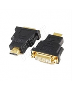 Gembird HDMI - DVI, M/F Black, HDMI to DVI adapter