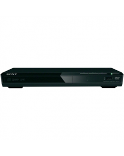 Sony DVD player DVP-SR370B JPEG, MP3, MPEG-4, WMA, AAC and Linear PCM,