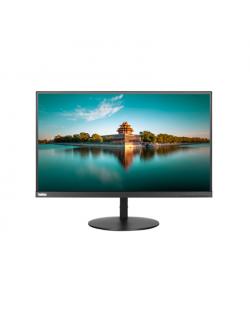 """Lenovo ThinkVision P27h 27 """", IPS, QHD, 2560 x 1440, 16:9, 4 ms, 350 cd/m², Black, 2 x HDMI 1.4, 1 x DP 1.2, 4 x USB 3.0 Type-A"""