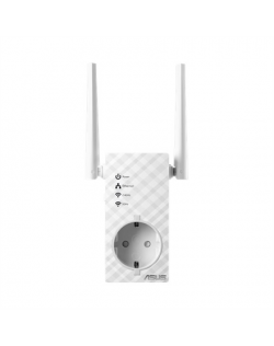 Asus Repeater RP-AC53 802.11ac, 2.4GHz/5GHz, 300+433 Mbit/s, 10/100 Mbit/s, Ethernet LAN (RJ-45) ports 1, Antenna type 2xExterna