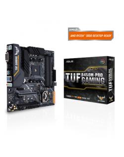 Asus TUF B450M-PRO GAMING Processor family AMD, Processor socket AM4, DDR4, Memory slots 4, Chipset AMD B, Micro ATX