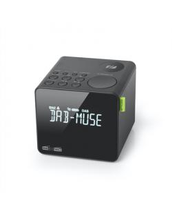 Muse FM RDS Radio M-187 CDB Alarm function, DAB+/ FM PLL Radio, Black