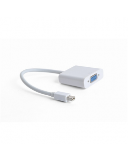 Cablexpert Mini DisplayPort to VGA Adapter Cable, White