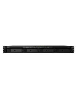 Synology Rack NAS RS819 Up to 4 HDD/SSD Hot-Swap, RTD1296 Quad Core, Processor frequency 1.4 GHz, 2 GB, DDR4, RAID 0,1,5,6,10,Hy