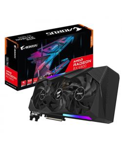 Gigabyte GV-R68AORUS M-16GD AMD, 16 GB, Radeon RX 6800, GDDR6, PCI-E 4.0 x 16, HDMI ports quantity 2, Memory clock speed 16000 M