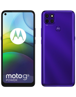 "Motorola Moto G9 Power Purple, 6.8 "", IPS LCD, 720 x 1640 pixels, Qualcomm SM6115 Snapdragon 662, Internal RAM 4 GB, 128 GB, mic"