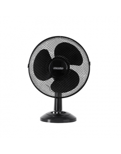 Mesko Fan MS 7309 Table Fan, Number of speeds 3, 40 W, Oscillation, Diameter 30 cm, Black