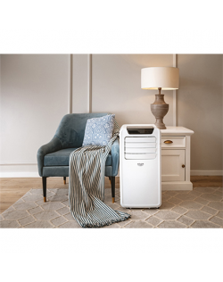 Adler Air conditioner AD 7916 9000 BTU Number of speeds 2, Fan function, White