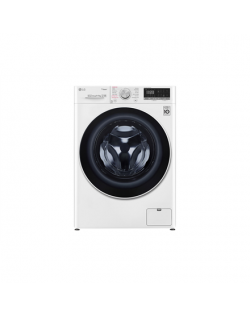 LG Washing machine with dryer F4DN409S0 Energy efficiency class D, Front loading, Washing capacity 9 kg, 1400 RPM, Depth 56 cm,