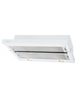 SALE OUT. CATA Hood TF 3600 WH Telescopic, Energy efficiency class F, Width 60 cm, 310 m³/h, Touch control, Halogen, White Glass