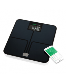 ETA ETA778090000 Vital Trainer Personal Scale, Black