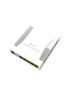 MikroTik Cloud Router Switch RB260GSP 1000 Mbit/s, Ethernet LAN (RJ-45) ports 5, Desktop