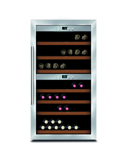 Caso Wine cooler Wine Master 66 Energy efficiency class G, Free standing, Bottles capacity Up to 66 bottles, Cooling type Compre