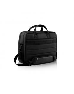 "Dell Premier 460-BCQL Fits up to size 15 "", Black with metal logo, Shoulder strap, Messenger - Briefcase"