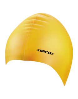 SKO BECO Silicone swimming cap 7390 Yellow
