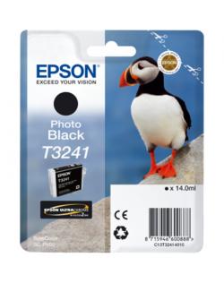 Epson T3241 Ink Cartridge, Photo Black