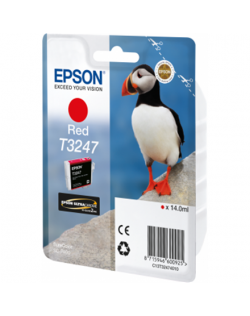 Epson T3247 Ink Cartridge, Red