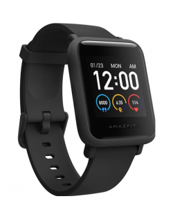 Amazfit Bip S Lite Smart watch, GPS (satellite), AMOLED Display, Touchscreen, Heart rate monitor, Activity monitoring 24/7, Wate