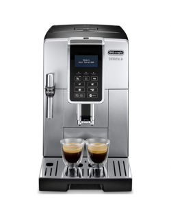 Delonghi Coffee Maker Dinamica ECAM ECAM 350.35 SB Pump pressure 15 bar, Built-in milk frother, Fully Automatic, 1450 W, Silver/