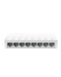 TP-LINK 8-Port 10/100Mbps Desktop Network Switch LS1008 Unmanaged, Desktop