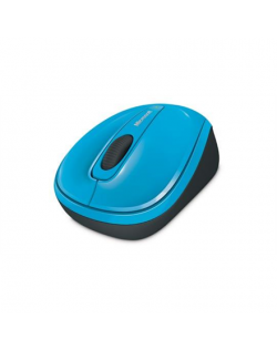 Microsoft GMF-00272 Wireless Mobile Mouse 3500 Wireless, Cyan