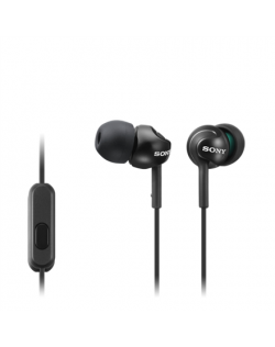 Sony In-ear Headphones EX series, Black Sony MDR-EX110AP In-ear, Black