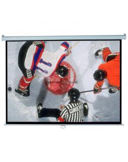 "Elite Screens Manual Series M120XWH2 Diagonal 120 "", 16:9, Viewable screen width (W) 266 cm, White"