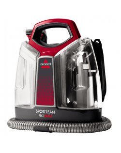 Bissell Spot Cleaner SpotClean ProHeat Corded operating, Handheld, Washing function, 275-330 W, Red/Titanium, Warranty 24 month(
