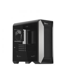 Genesis PC case IRID 513 Side window, Black, Micro ATX, Power supply included No