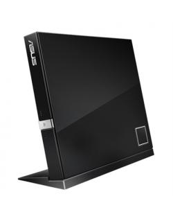 Asus SBW-06D2X-U Interface USB 2.0, DVD±RW, CD read speed 24 x, CD write speed 24 x, Black