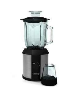 Camry Blender CR 4058 Tabletop, 1500 W, Jar material Glass, Jar capacity 1.3 L, Ice crushing, Mill, Black/Stainless steel