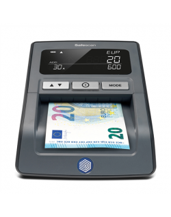 SAFESCAN Money Checking Machine 155-S Black, Suitable for EUR, GBP, CHF, PLN and HUF, Number of detection points 7, Value counti