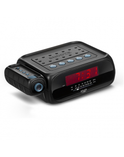 Adler Alarmclock Radio with projector AD 1120 Black, Alarm function